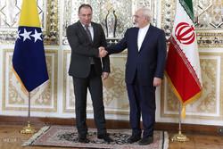İran ve Bosna-Hersek dışişleri bakanları görüşmesi/ Foto