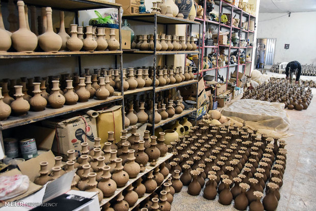 Shahreza pottery workshops