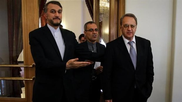 Iran, Russia reaffirm political solution to Syria crisis