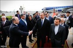 İlham Aliyev Tahran'da
