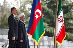 الرئيس روحاني يقيم مراسم استقبال رسمية لرئيس جمهورية اذربايجان