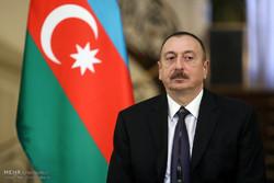 مراسم استقبال رسمی از رئیس جمهور آذربایجان