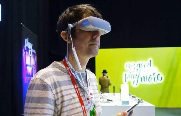 تصاویر فناوری واقعیت مجازی ال جی