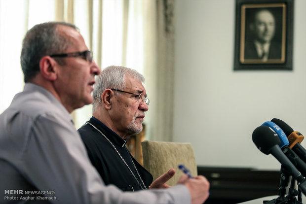 Armenian Diocese of Tehran holds presser