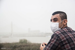غلظت گرد و غبار در اهواز به ۳۸ برابر حد مجاز رسید