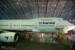 هواپیمای ایرباس ایرانایر برای پروازهای حج عملیاتی شد
