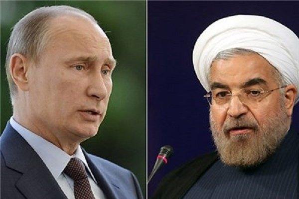 روحاني وبوتين يبحثان هاتفياً تحقيق الاستقرار في سوريا