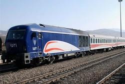 قطار مسافربری - شرکت رجا - راه آهن شمالشرق - لوکوموتیو