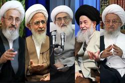 مراجع الدين يدعون الإيرانيين للمشاركة الواسعة في الانتخابات الرئاسية