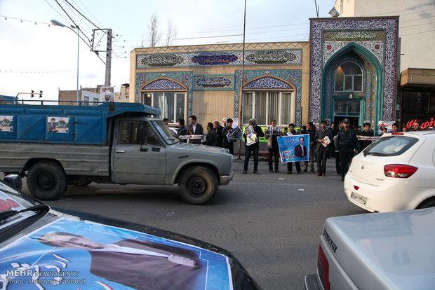 Last night of electoral campaigns in Tabriz, Bushehr, Alborz