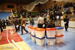 توزیع صندوقهای اخذ رای در همدان