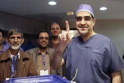 وزیر بهداشت انتخابات حسن قاضی زاده هاشمی