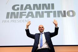 جیانی اینفانتینو رئیس فیفا