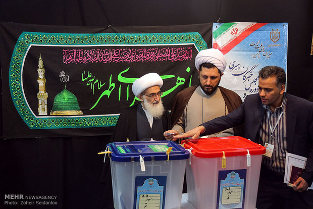 Qom clerics cast vote