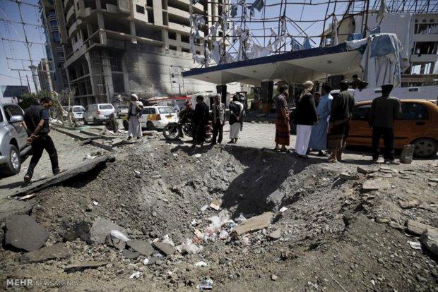 یمن کے نہتے عربوں پر سعودی عرب کی وحشیانہ بمباری جاری