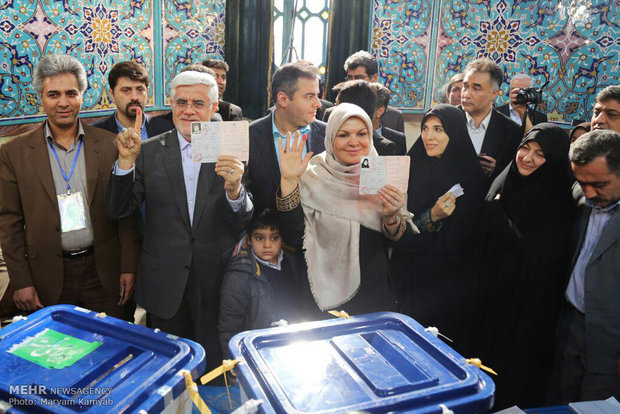 Iranian voters turn out in big numbers