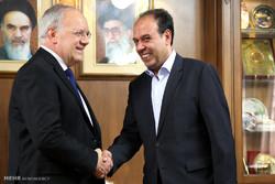 İsviçre Konfederasyonu Başkanı, İran Ticaret Odası'nı ziyaret etti/Foto