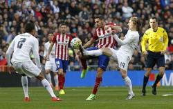 اتلتیکو دربی مادرید را برد/ تیم زیدان از قهرمانی دور شد