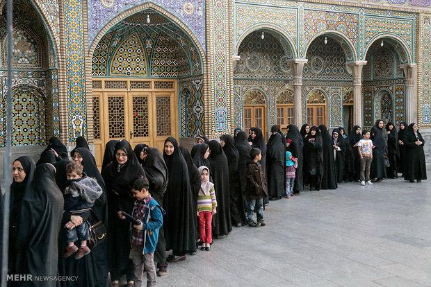 انتخابات مجلس خبرگان ومجلس شورای اسلامی در قم