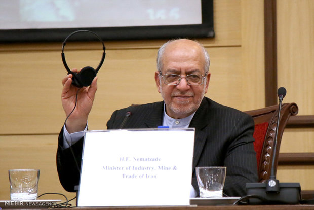 حضور رئیس جمهور سوئیس در اتاق بازرگانی ایران