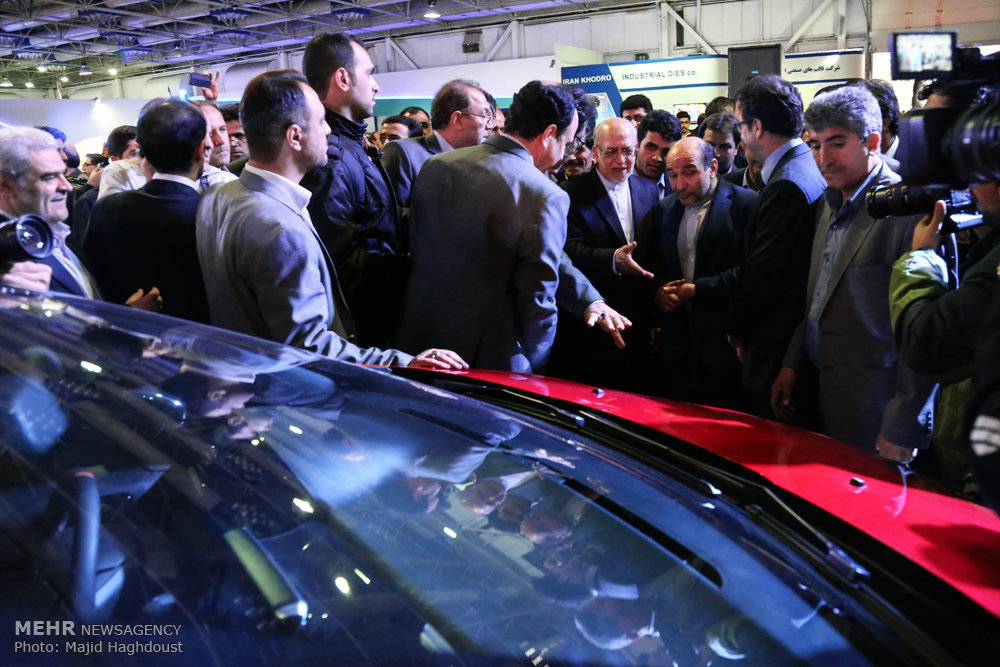 افتتاح نمایشگاه توانمندیهای صنعت خودرو