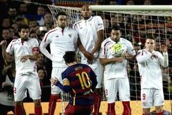 پیروزی بارسلونا مقابل سویا/ آبیاناریها دور از دسترس مادریدیها