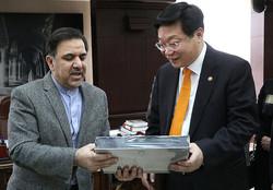 دیدار آخوندی با وزیر صنعت، تجارت و انرژی کره جنوبی