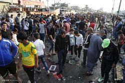 مشاهد عن الهجوم الانتحاري المزدوج في بغداد