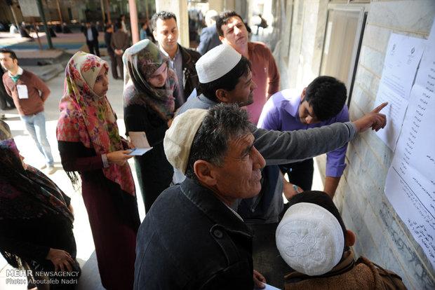 مشارکت ۸۰ درصدی مردم آق قلا در انتخابات