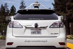 گوگل کی خودکار گاڑی حادثے کا شکار