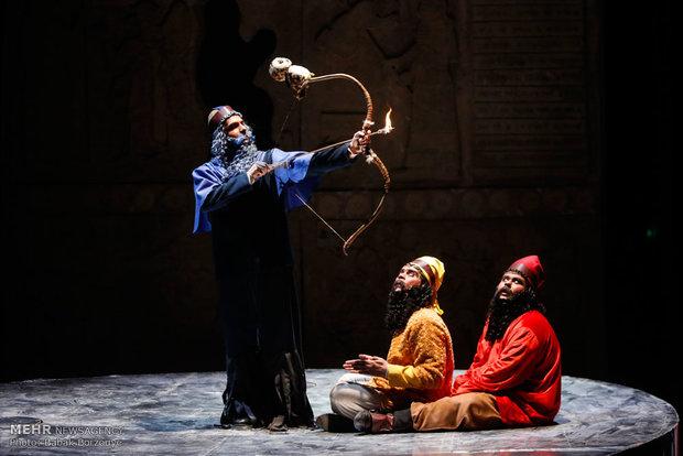 اجرای نمایش داستان های میان رودان