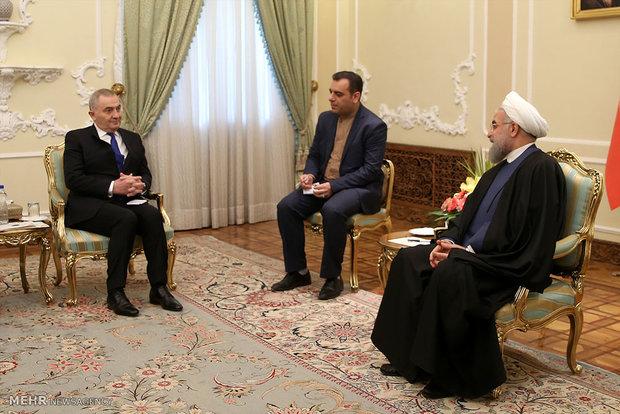 یدار وزیر امور خارجه رومانی با رئیس جمهور