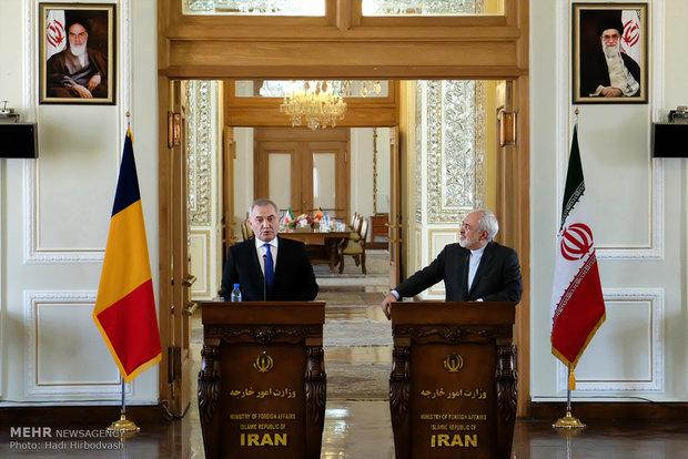 دیدار وزرای خارجه ایران و رومانی