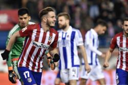 پیروزی قاطعانه اتلتیکو مادرید برابر سوسیهداد