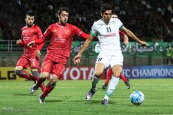 دیدار تیمهای فوتبال ذوب آهن ایران و لخویای قطر