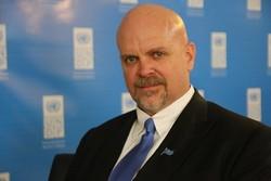 گری لوییس، نماینده دفتر توسعه ملل متحد در ایران