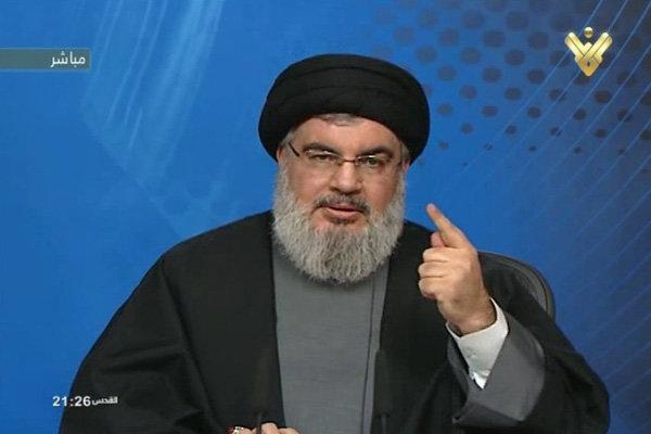 نصر الله: السعودية تريد الفتنة ولبنان يجب ان يبقى محيدا عن اي صراع داخلي