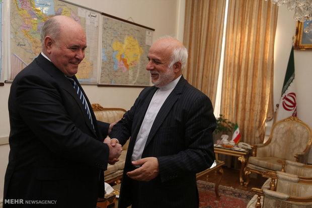 لقاء مساعد وزير الخارجية الايراني ونظيره الروسي