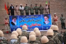 مناورات تكتيكية لكتيبة الامام الحسين (ع) في مدينة بيرجند