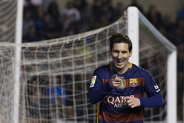 پیروزی پرگل بارسلونا برابر رایو وایهکانو ۹ نفره/ مسی هت تریک کرد