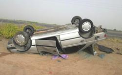 سانحه رانندگی در محور ساوه-همدان ۲ کشته برجای گذاشت