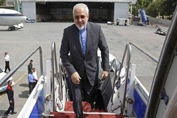 Zarif off to Indonesia as first leg of East Asian tour