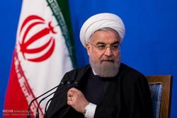 انطلاق المؤتمر الصحفي التاسع للرئيس الإيراني