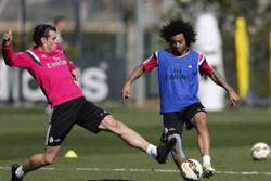 فیلم/ آمادگی فوق العاده مارسلو و رودریگس در تمرین رئال مادرید