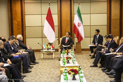 Zarif meets with Indonesian Pres.