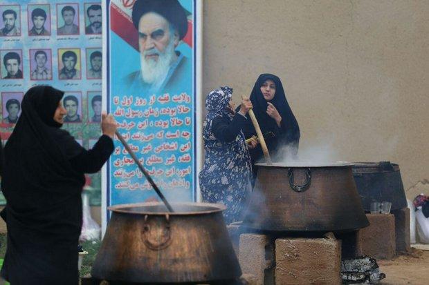 برگزاری جشنواره سمنو دربجنورد/سمنوپزان یک سین «هفت سین» راپختند