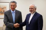 دیدار وزیر خارجه با نخست وزیر سنگاپور