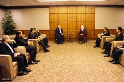 دیدار وزیر خارجه با رئیس مجلس سنگاپور
