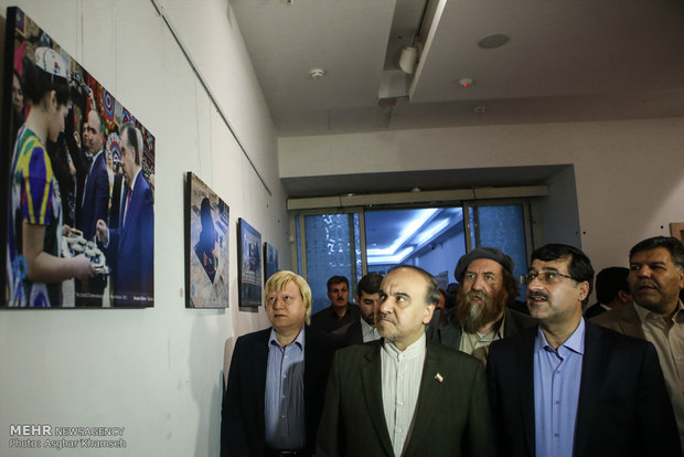 Natl. Nowrouz Ritual Exhibition held
