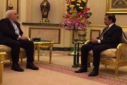 وزير الخارجية الايراني يلتقي سلطان بروناي
